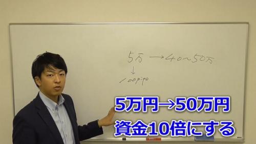 FXで5万円→50万円の作り方!